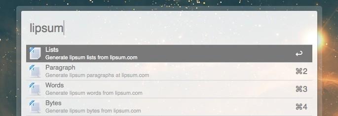 Lipsum Text